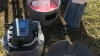 Buckets and sampling apparatus